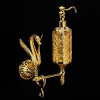 Дозатор жидкого мыла настенный, стекло Migliore Luxor арт.26165