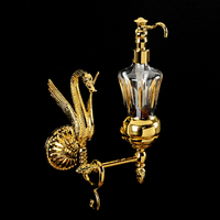 Дозатор жидкого мыла настенный, хрусталь Migliore Luxor арт.26121