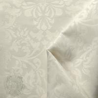 "Шторка для душа/ванны ""Белый/Узор Барокко"" арт.25514"