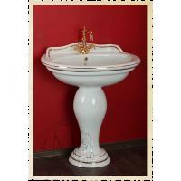 Раковина-тюльпан Migliore Milady 77 см Декор Золото ML.MLD-25.773.D1