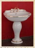 Раковина-тюльпан Migliore Milady 77 см Декор Золото D2 ML.MLD-25.773.D2