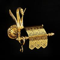Бумагодержатель с крышкой Migliore Luxor арт.26120