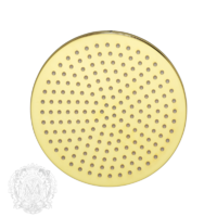 Radius X7 Верхний душ, D250 мм антикальций, золото арт. 26100