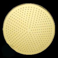 Radius B7 Верхний душ, D400 мм антикальций, золото арт. 26104