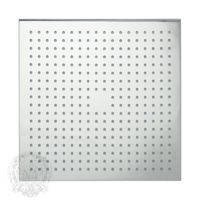 Corner C7 Верхний душ, 300x300 мм антикальций, хром арт. 26105