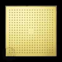 Corner C7 Верхний душ, 300x300 мм антикальций, золото арт. 26106
