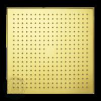 Corner B7 Верхний душ, 400x400 мм антикальций, золото арт. 26107