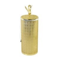 Корзина для белья ажурная 22 литра, D23xH56 см. Migliore Luxor арт.26167