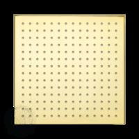 Corner X7 Верхний душ, 250x250 мм антикальций, золото арт. 26171