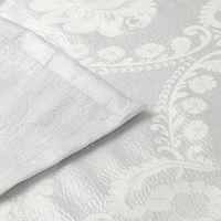 """Шторка для душа/ванны """"Серебро/Узор Барокко"""" арт.26640"""
