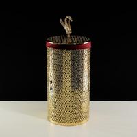 Корзина для белья ажурная 44 литра, D31xH63 см. Migliore Luxor арт.26168