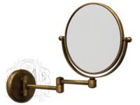 Complementi Зеркало оптическое на шарнирах d18хh25x42 см. (3X) MIGLIORE ML.COM-50.331 (ДЕФЕКТ)