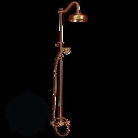 Душевая колонна Migliore Onda c девиатором, декор D1 ML.OND-36.217.D1