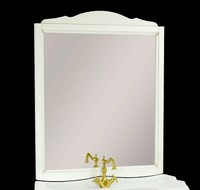 BELLA Зеркало прямоугольное 96xH114x3 см. Avorio