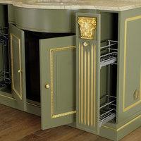 Комплект мебели с пеналом Migliore Ravenna Oliva