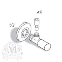 MINIMAL Кран запорный ML.RIC-10.116
