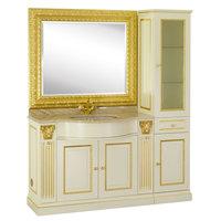 Комплект мебели с пеналом Migliore Ravenna Avorio